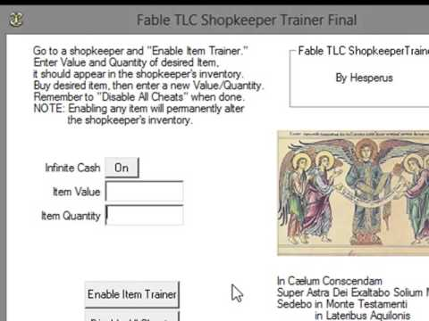 Fable 1 - трейнер FableShop